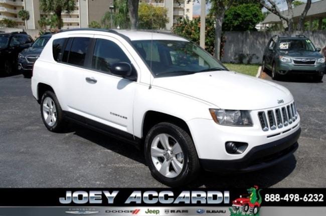 Used 2014 Jeep Compass Sport FWD SUV For Sale Pompano Beach