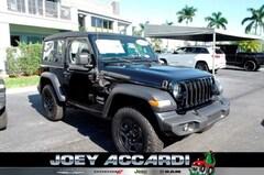 New 2018 Jeep Wrangler SPORT 4X4 Sport Utility in Pompano Beach, FL