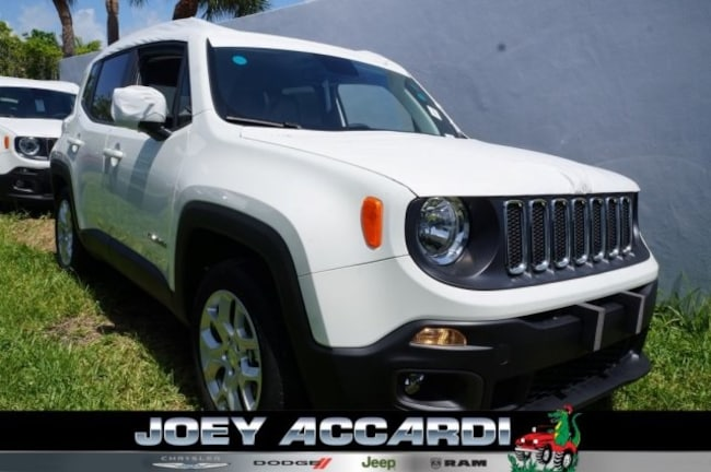 New 2018 Jeep Renegade LATITUDE 4X2 Sport Utility For Sale/Lease Pompano Beach