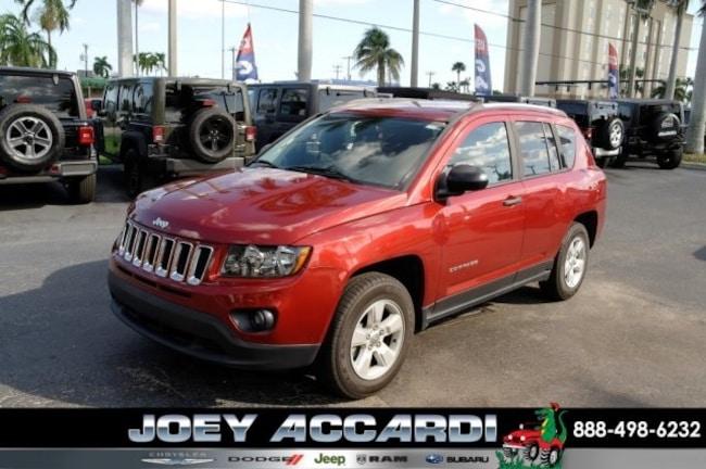 Used 2016 Jeep Compass Sport SUV For Sale Pompano Beach