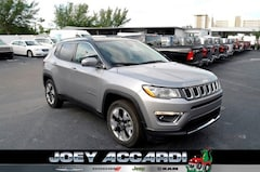 New 2018 Jeep Compass LIMITED FWD Sport Utility in Pompano Beach, FL