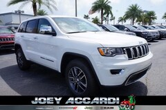 New 2018 Jeep Grand Cherokee LIMITED 4X2 Sport Utility in Pompano Beach, FL