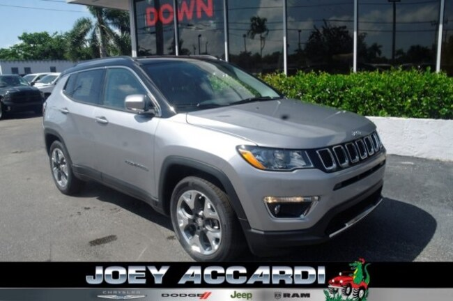 New 2018 Jeep Compass LIMITED FWD Sport Utility For Sale/Lease Pompano Beach