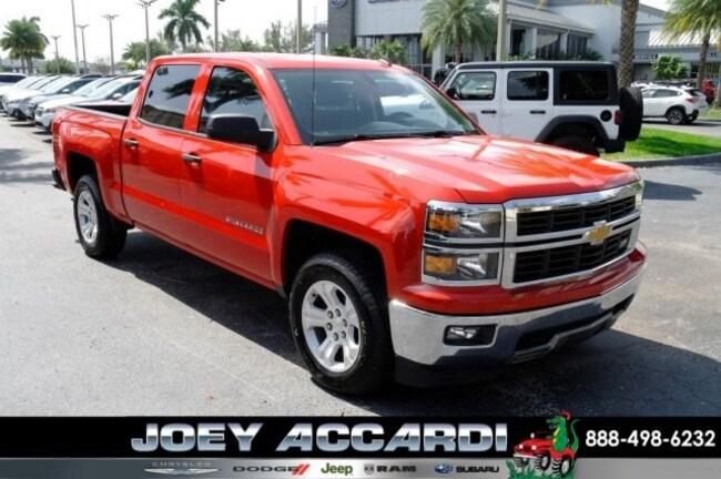 Used 2014 Chevrolet Silverado 1500 LT Truck Crew Cab For Sale Pompano Beach