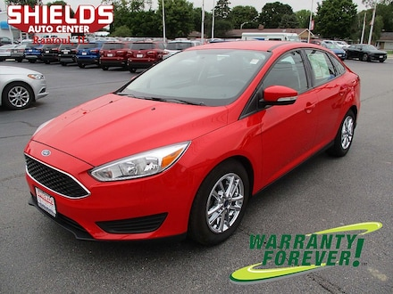 2016 Ford Focus SE Compact Car