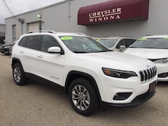 New Vehicles 2021 Jeep Cherokee LATITUDE LUX 4X4 Sport Utility in Winona, MN