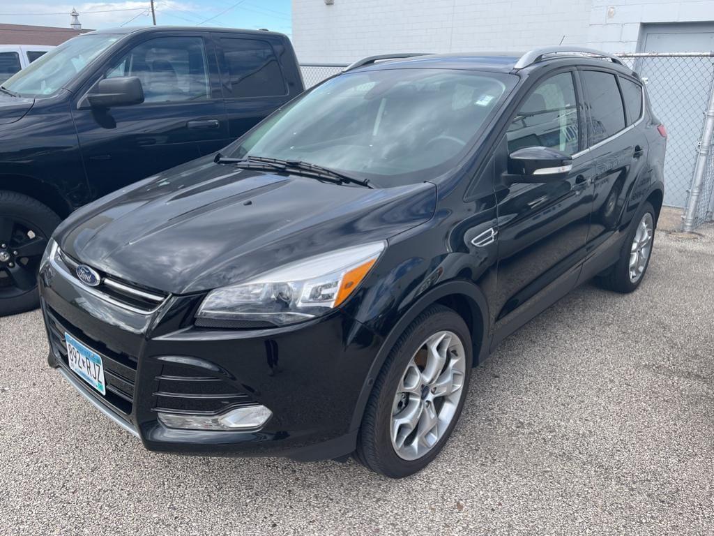 Used 2015 Ford Escape Titanium with VIN 1FMCU9J92FUB72739 for sale in Winona, Minnesota