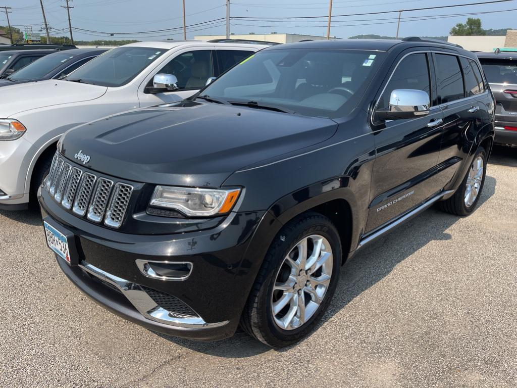 Used 2015 Jeep Grand Cherokee Summit with VIN 1C4RJFJG1FC847121 for sale in Winona, Minnesota