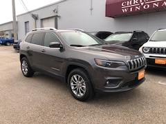 Certified Pre-owned Vehicles 2019 Jeep Cherokee Latitude Plus 4x4 SUV in Winona, MN