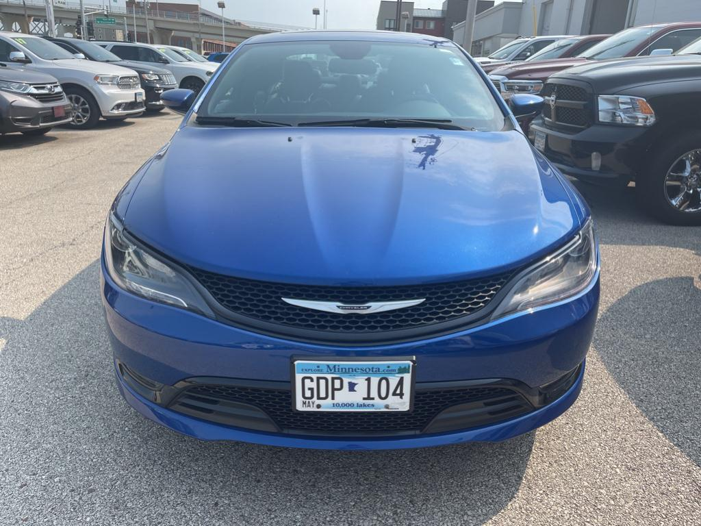 Used 2015 Chrysler 200 S with VIN 1C3CCCBG3FN551149 for sale in Winona, Minnesota