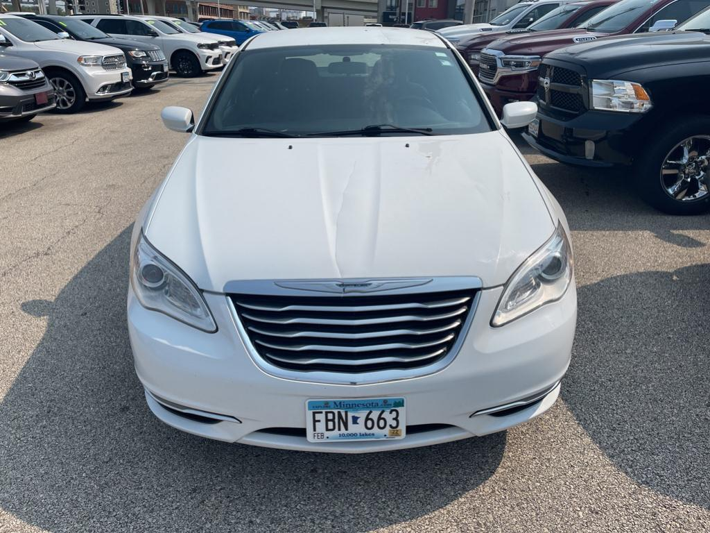Used 2013 Chrysler 200 Touring with VIN 1C3CCBBG3DN527487 for sale in Winona, Minnesota