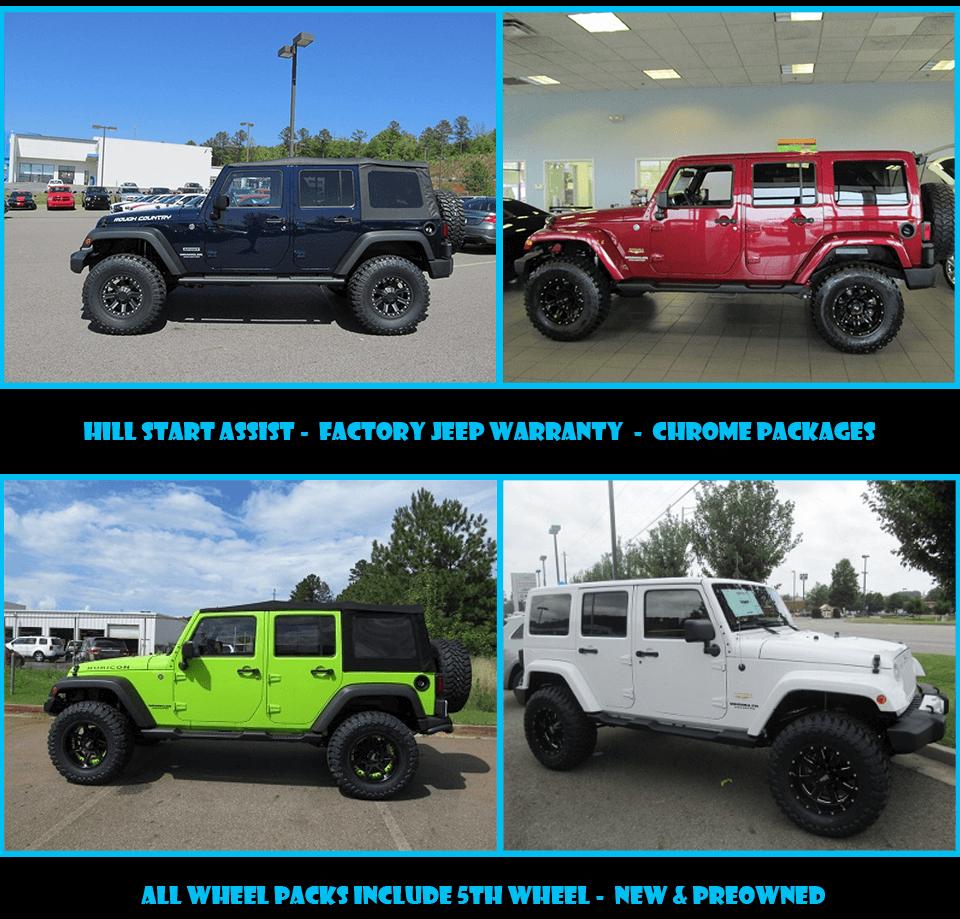 Customize Your Jeep Wrangler at Robert ...