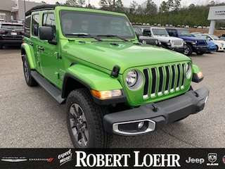 New 2018 Jeep Wrangler UNLIMITED SAHARA 4X4 Sport Utility for sale in Cartersville, GA