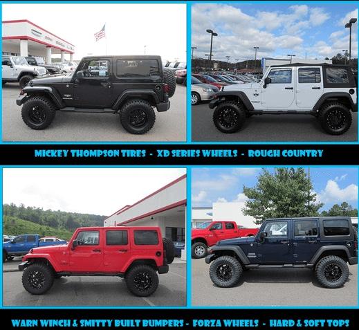 Custom Jeep Wranglers - Cartersville GA - Robert Loehr CDJR