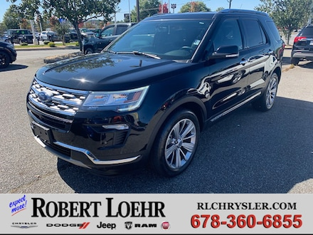 2018 Ford Explorer Limited SUV 1FM5K8F88JGB66525
