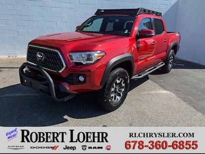 Used 2018 Toyota Tacoma TRD Sport V6 For Sale in