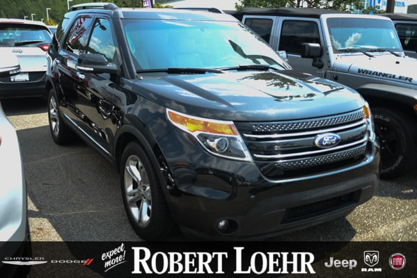 2015 Ford Explorer Limited SUV 1FM5K7F88FGA87826