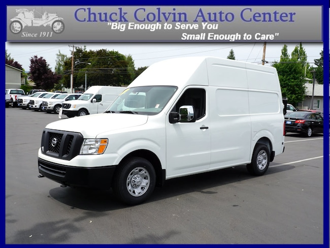 New 2017 nissan nv cargo nv2500 hd for sale mcminnville or for Nissan motor finance customer service