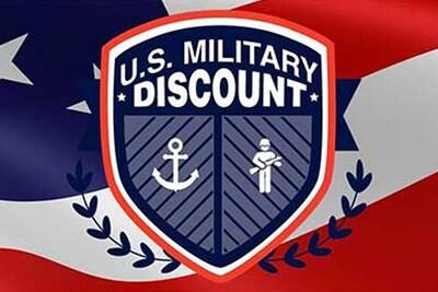 Active Duty & Veteran Discount