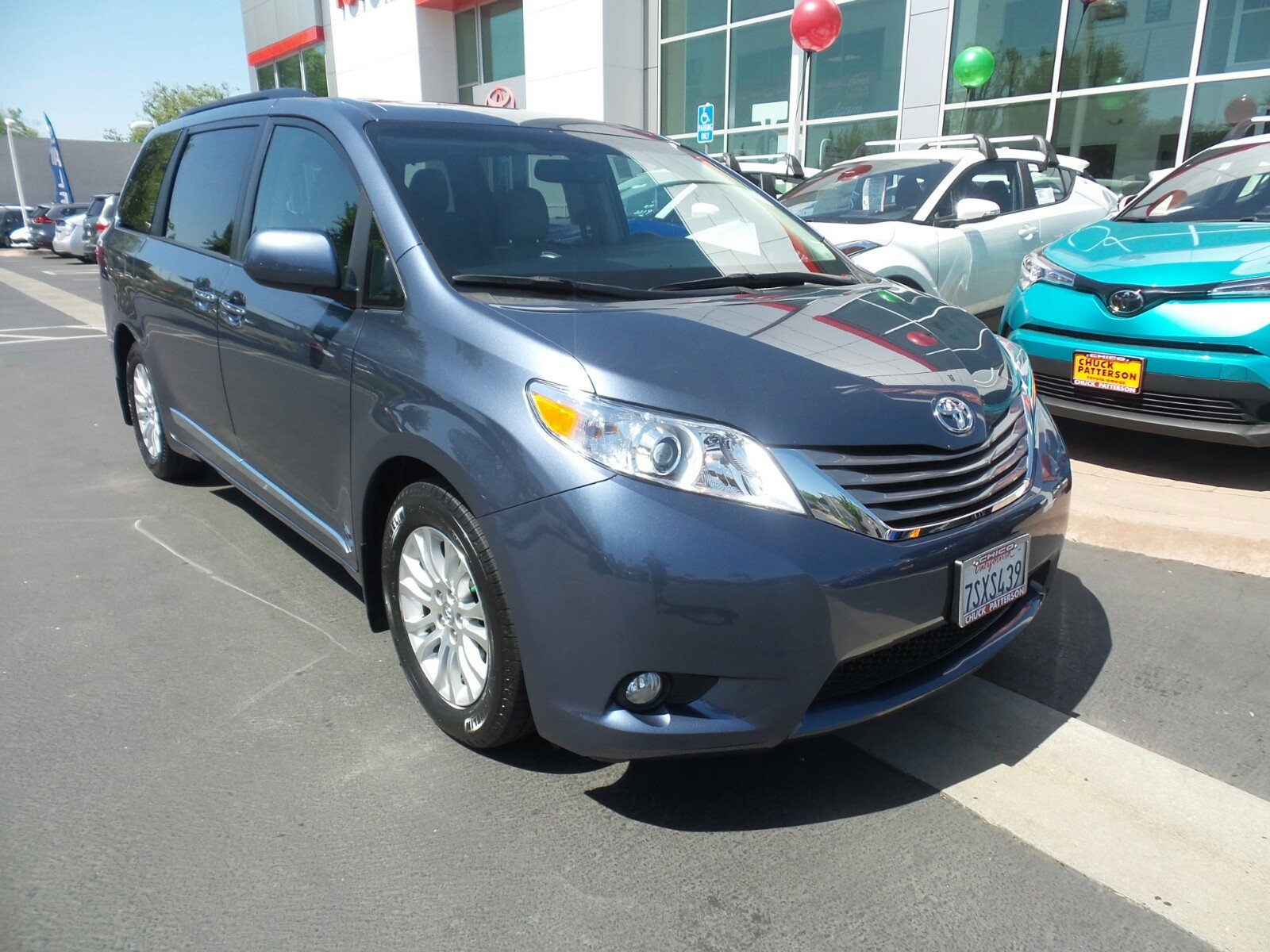 Featured pre-owned vehicles 2016 Toyota Sienna XLE Premium 8 Passenger Van for sale near you in Chico, CA