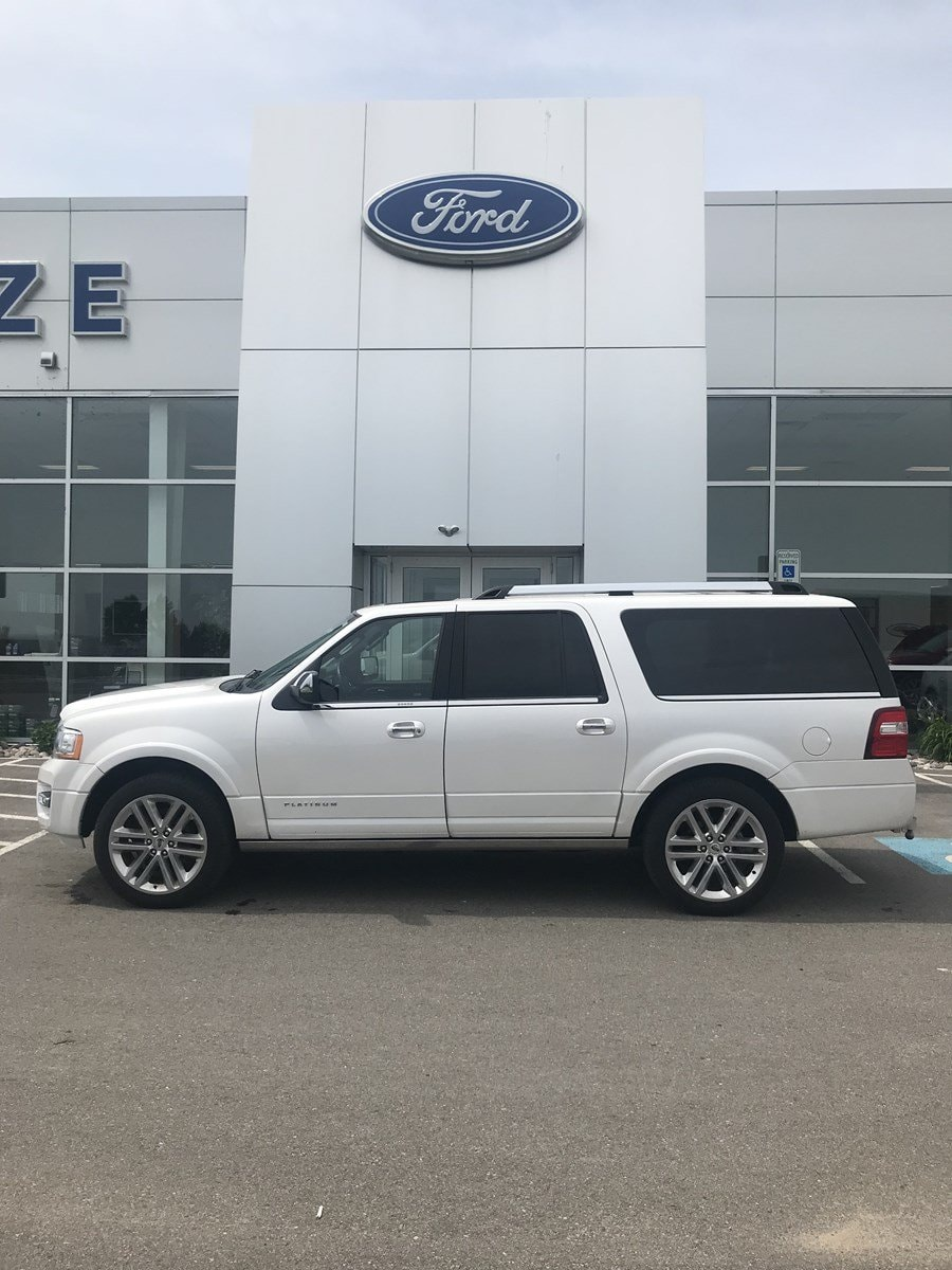 2017 Ford Expedition EL Platinum Platinum 4x4