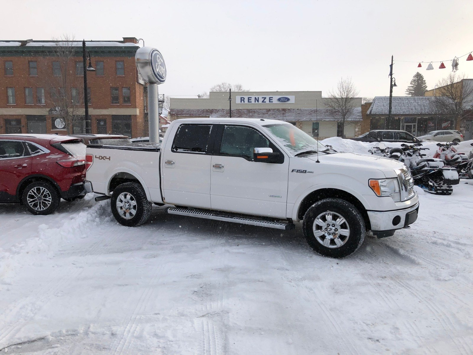 2012 Ford F-150 Lari Truck SuperCrew Cab