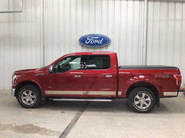 Used 2015 Ford F-150 Lariat with VIN 1FTEW1EP7FKD10403 for sale in New Ulm, Minnesota
