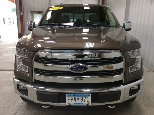 Used 2015 Ford F-150 Lariat with VIN 1FTEW1EF8FKE04944 for sale in New Ulm, Minnesota
