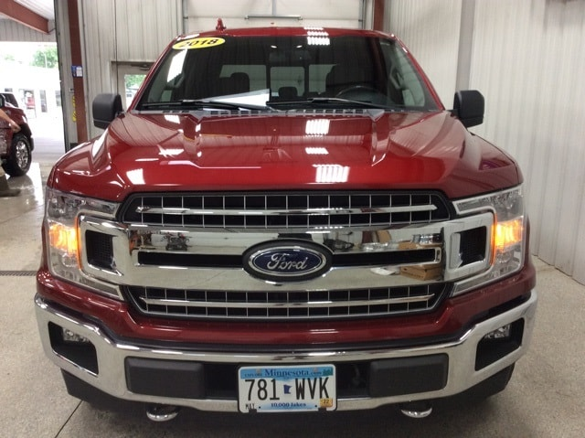 Used 2018 Ford F-150 XLT with VIN 1FTEW1EG3JKD51524 for sale in New Ulm, Minnesota