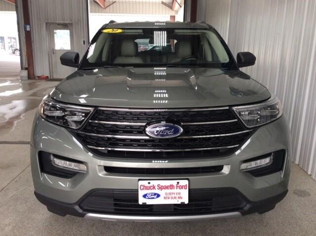 Used 2020 Ford Explorer XLT with VIN 1FMSK8DH5LGA79612 for sale in New Ulm, Minnesota