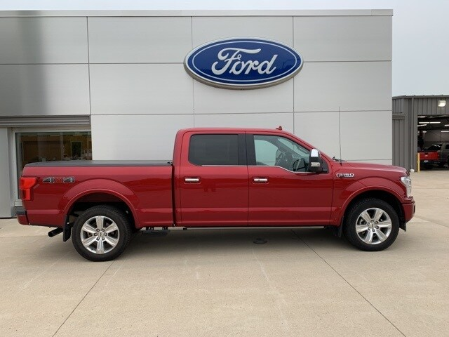 Used 2018 Ford F-150 Platinum with VIN 1FTFW1EG4JFE47868 for sale in New Ulm, Minnesota