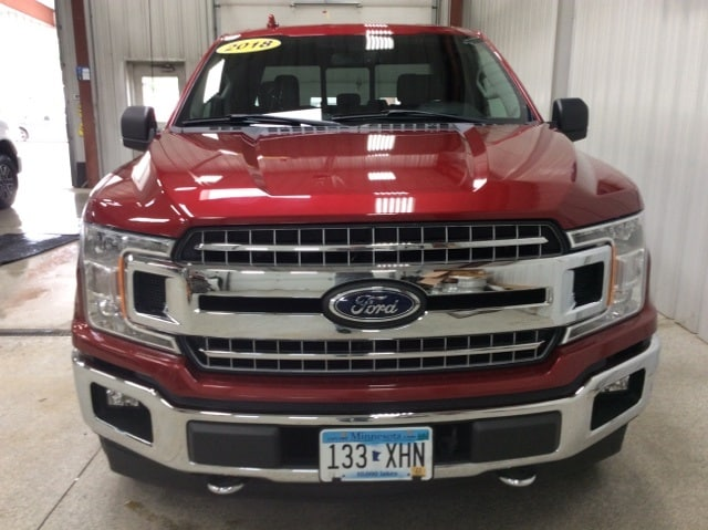 Used 2018 Ford F-150 XLT with VIN 1FTEX1EP9JKD07895 for sale in New Ulm, Minnesota