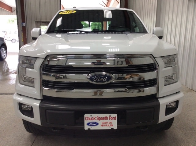 Certified 2015 Ford F-150 XLT with VIN 1FTEW1EFXFFA80159 for sale in New Ulm, Minnesota