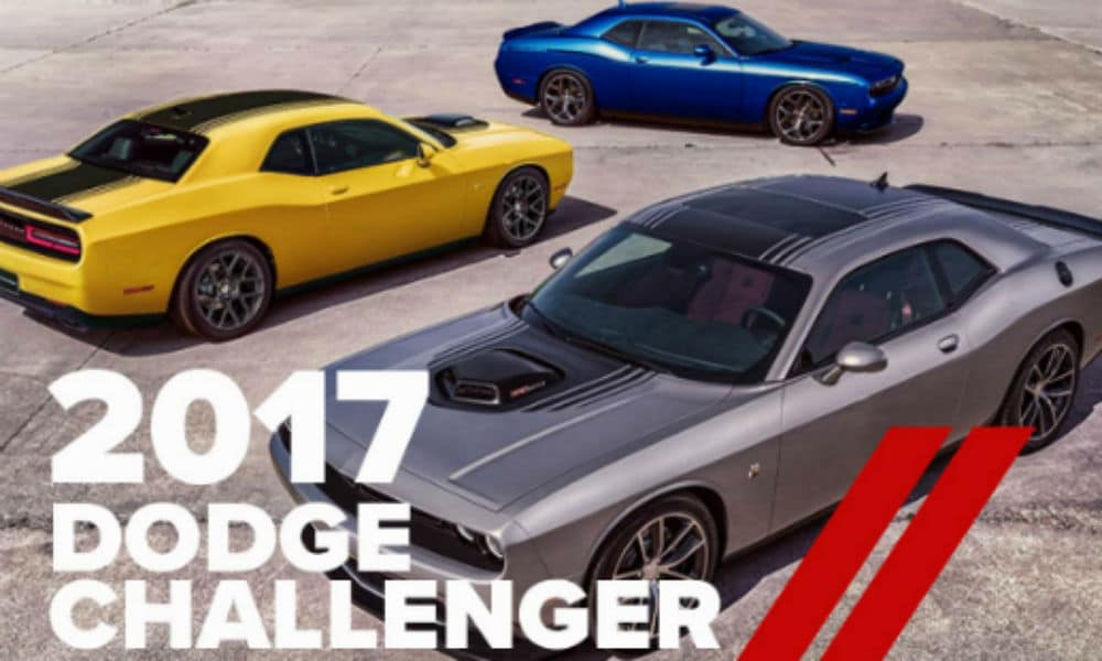 Hereu0027s A Look At The 14 Different Models/ Trimlines Dodge Is Currently  Offering For The 2017 Dodge Challenger, Arranged By Engine Type, ...