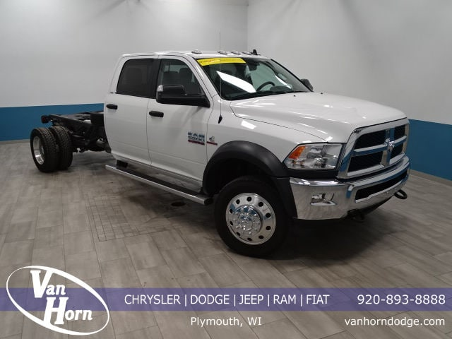2017 Ram 5500 Chassis Truck Crew Cab