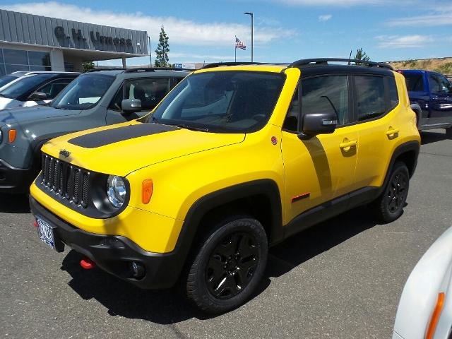 Jeep Renegade Trailhawk For Sale >> New 2018 Jeep Renegade Trailhawk 4x4 Sport Utility For Sale In The
