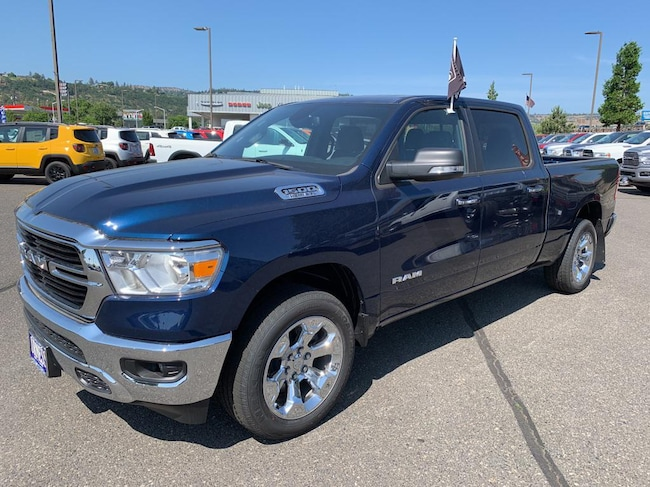 New 2019 Ram 1500 BIG HORN / LONE STAR CREW CAB 4X4 6'4 BOX Crew Cab for sale in The Dalles