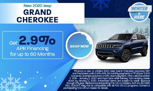 December 2020 Grand Cherokee Special