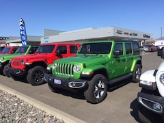 New 2019 Jeep Wrangler UNLIMITED SAHARA 4X4 Sport Utility in The Dalles