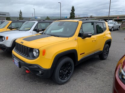 2018 Jeep Renegade: Changes, Design, Features, Price >> New 2018 Jeep Renegade Trailhawk 4x4 Sport Utility For Sale In The Dalles Or Stock H70147