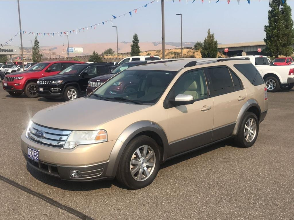 Used 2008 ford taurus x sel for sale in the dalles or used ford at ch urness vin 1fmdk02w58ga04797