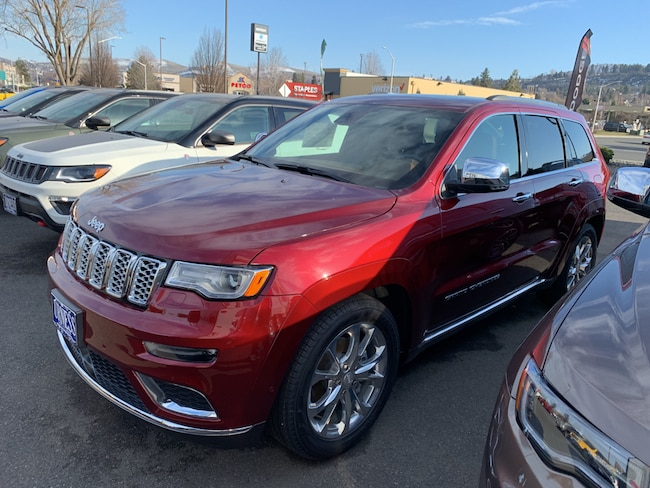 New 2019 Jeep Grand Cherokee SUMMIT 4X4 Sport Utility for sale in The Dalles