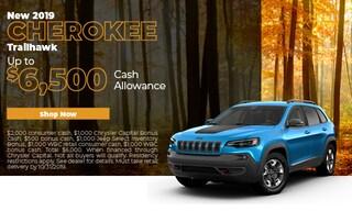 October 2019 Jeep Cherokee Special