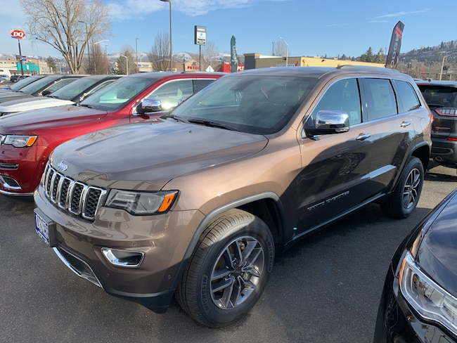 New 2019 Jeep Grand Cherokee LIMITED 4X4 Sport Utility for sale in The Dalles