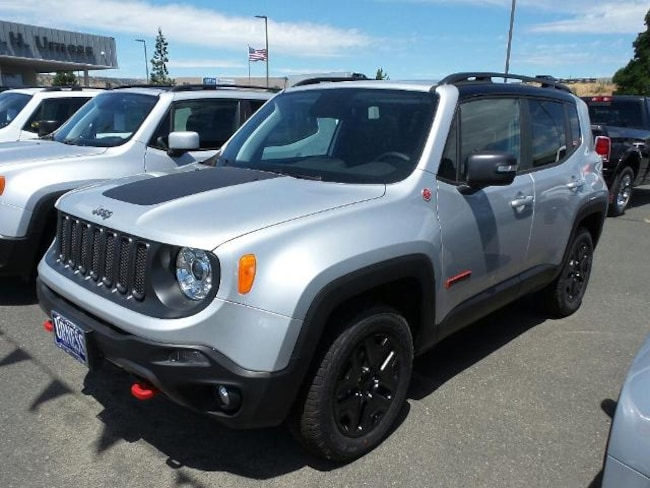 New 2018 Jeep Renegade TRAILHAWK 4X4 Sport Utility for sale in The Dalles