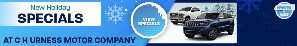 December 2019 Monthly Specials
