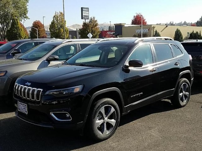 New 2019 Jeep Cherokee LIMITED 4X4 Sport Utility for sale in The Dalles