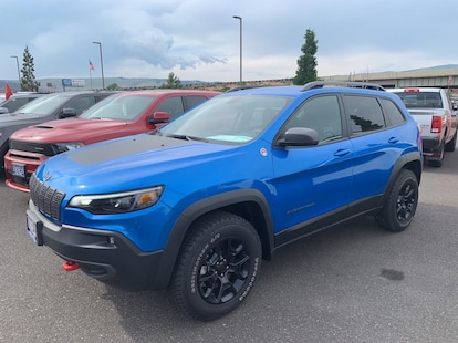 New 2019 Jeep Cherokee TRAILHAWK 4X4 Sport Utility for sale in The Dalles,  OR | Stock: 217621