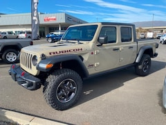 New 2020 Jeep Gladiator RUBICON 4X4 Crew Cab 1C6JJTBG9LL179226 in The Dalles