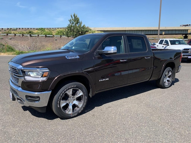 New 2019 Ram 1500 LARAMIE CREW CAB 4X4 6'4 BOX Crew Cab for sale in The Dalles